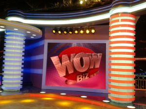 Amenajare Studio TV WOW BIZ