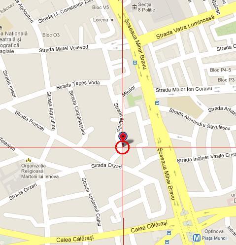 Harta locatiei