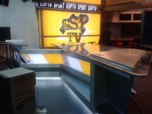 Reamenajare studio tv GSP TV