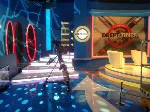 Amenajare studio TV - Drept la Tinta